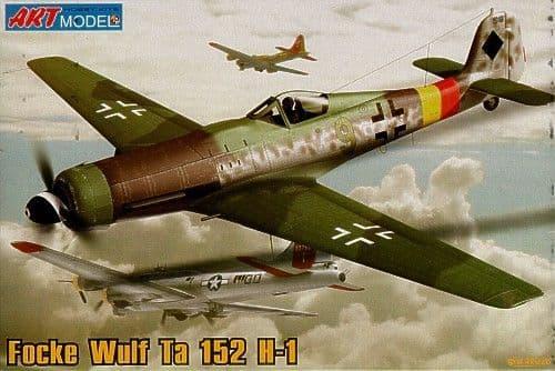 Art Model 1/72 Focke Wulf Ta152H-1 # 7204
