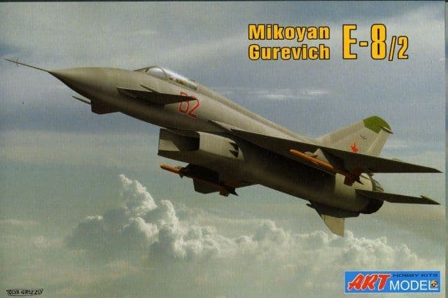 Art Model 1/72 Mikoyan Gurevich E-8/2 # 7209