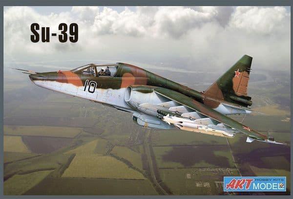 Art Model 1/72 Sukhoi Su-39 (Su-25TM) Frogfoot # 7217