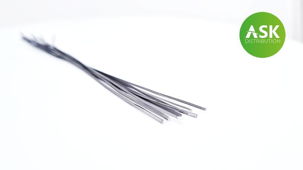 Art Scale - Lead Wire - Flat 0,4 x 1,0 mm x 140 mm (10 Pcs) # 200-T0078