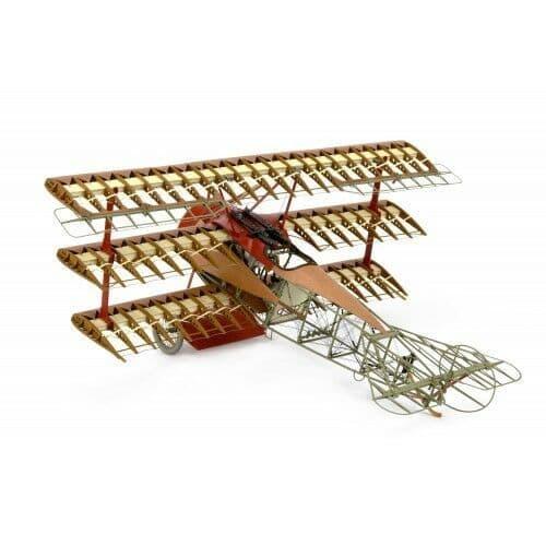 Artesania Latina 1/16 Fokker Dr. I The Red Baron's Triplane # 20350