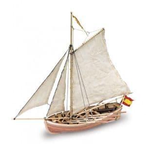 Artesania Latina 1/25 San Juan Nepomuceno 1765 Life Boat # 18010