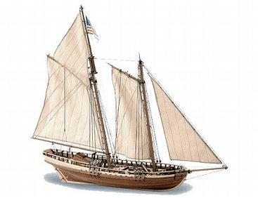 Artesania Latina 1/41 Virginia 1819 # 22135