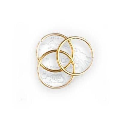 Artesania Latina - Brass Rings 10mm (30 units) # 8624