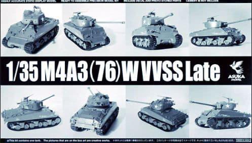 Asuka 1/35 M4A3 (76) WVVSS Late # 35043