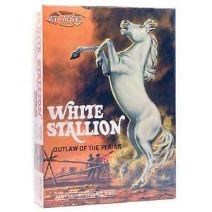Atlantis 1/12 White Stallion Outlaw of The Plains # AMC2001