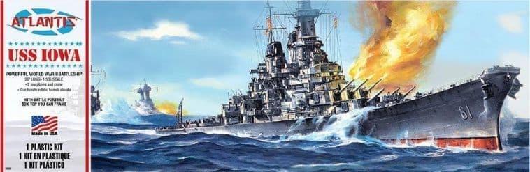 Atlantis 1/535 USS Iowa BB-61 Big Battleship # AMCH369