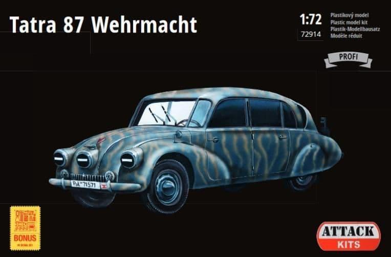 Attack 1/72 Tatra 87 Wehrmacht # 72914