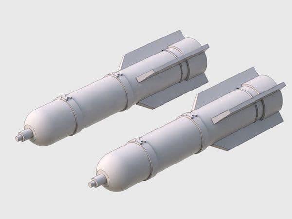 Attack Squadron 1/48 M26 Flare (4pcs) # 48035