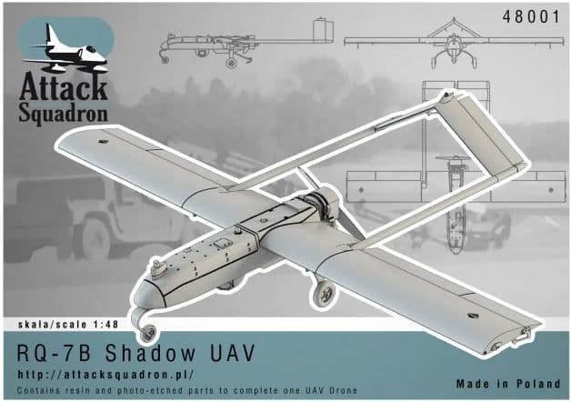 Attack Squadron 1/48 Model RQ-7B Shadow # 48001