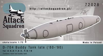 Attack Squadron 1/72 31-300 Buddy Tank late ('80-'90) 1pc # 7202