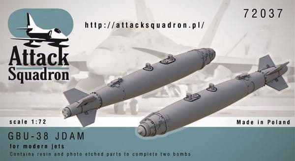Attack Squadron 1/72 GBU-38 JDAM 500 lb # 72037
