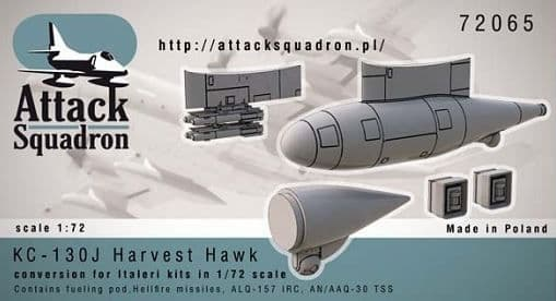 Attack Squadron 1/72 Lockheed KC-130J Hercules Harvest Hawk Upda