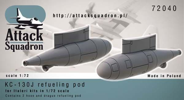 Attack Squadron 1/72 Lockheed KC-130J Hercules Refueling Pod # 7