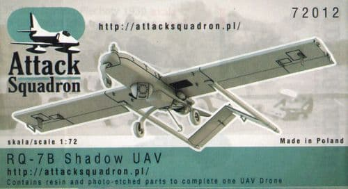 Attack Squadron 1/72 Model RQ-7B Shadow # 72012