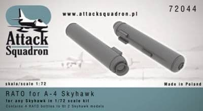 Attack Squadron 1/72 RATO for A-4 Skyhawk (4 pcs) # 72044