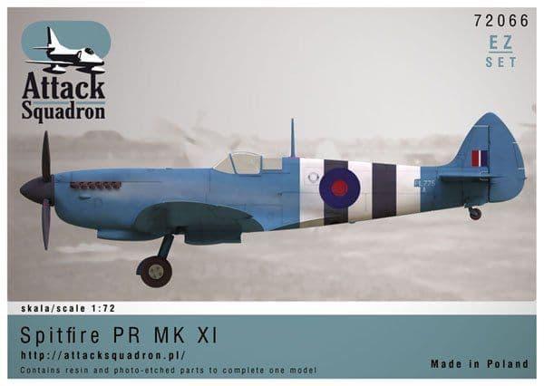 Attack Squadron 1/72 Spitfire Mk.XI EZ # 72066