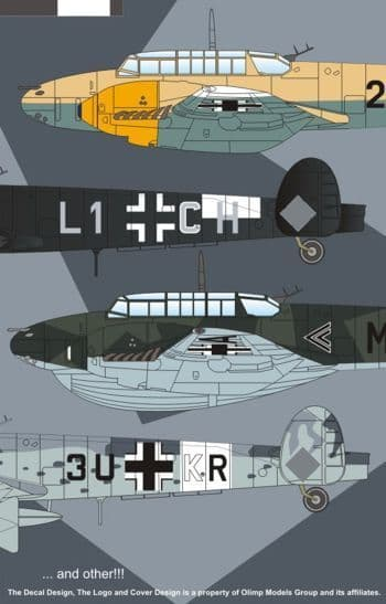Authentic Decals 1/48 Messerschmitt Bf-119D # 4840