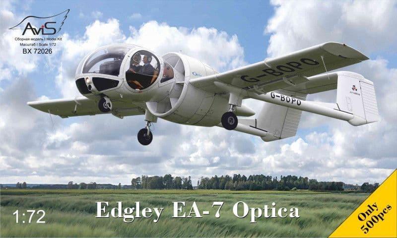 Avis 1/72 Edgley EA-7 Optica # BX72026