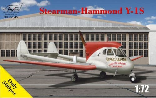 Avis 1/72 Stearman-Hammond Y-1S # BX72045