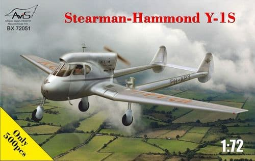Avis 1/72 Stearman-Hammond Y-1S # BX72051