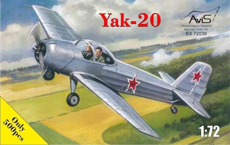 Avis 1/72 Yakovlev Yak-20 # BX72039