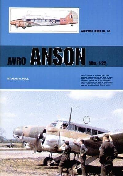 Avro Anson Mk.I-22 - By Alan W. Hall