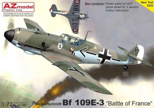 AZ Model 1/72 Messerschmitt Bf-109E-3