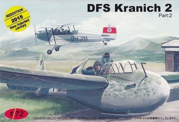 AZ Models 1/72 DFS Kranich (Gliders) # CZ39