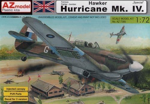 AZ Models 1/72 Hawker Hurricane Mk. IV # AZ 7389