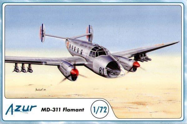 Azur 1/72 Dassault MD-311 Flamant # 8772