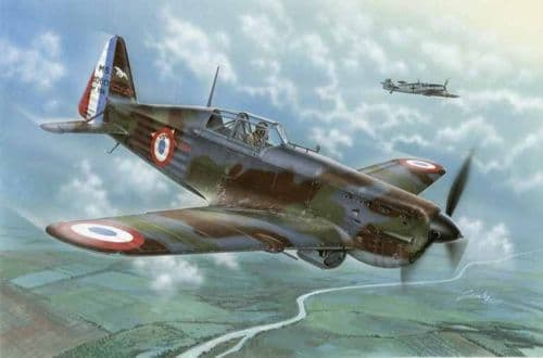 "Azur 1/72 Morane-Saulnier MS.406C1 ""Battle of France"" # 109"