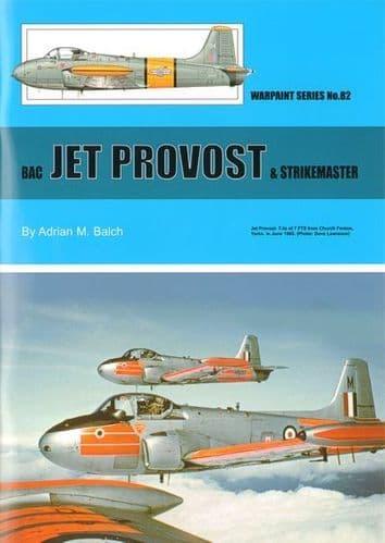 BAC Jet Provost and Strikemaster - By Adrian M Balch