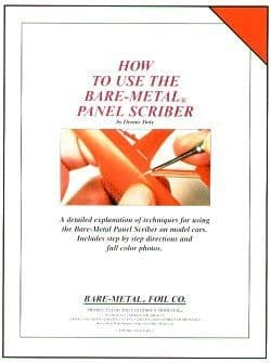 Bare-Metal Booklet - How to use the Bare-Metal Panel Scriber on Model Cars # BMBOOK2