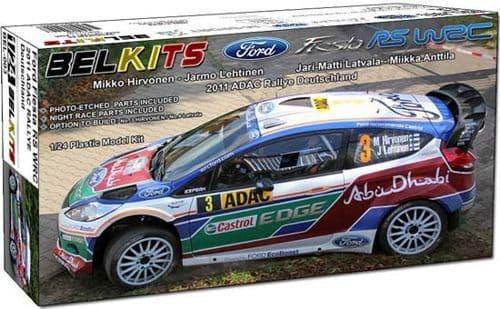 Belkits 1/24 Ford Fiesta RS W2C 2011 ADAC Rallye Deutschland # BEL003