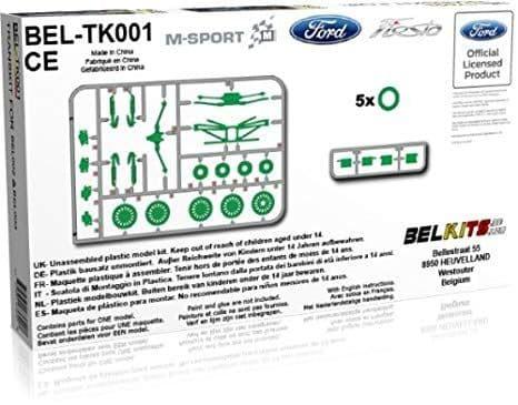 Belkits 1/24 Transkit for BEL-002 & BEL-003 # BEL-TK001