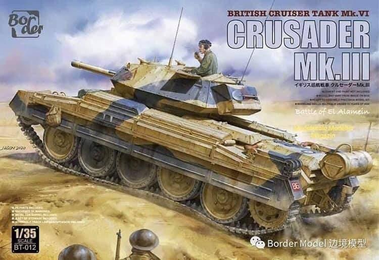 Border Models 1/35 Crusader Mk III (British Cruiser tank Mk.VI) # BT-012