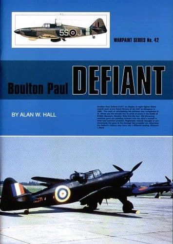 Boulton-Paul Defiant - By Alan W. Hall