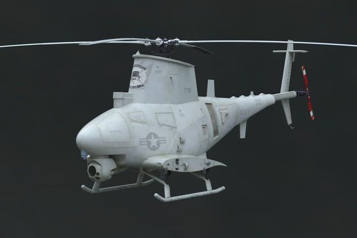 Brengun 1/48 MQ-8B Fire Scout UAV Plane Resin Construction # S48010