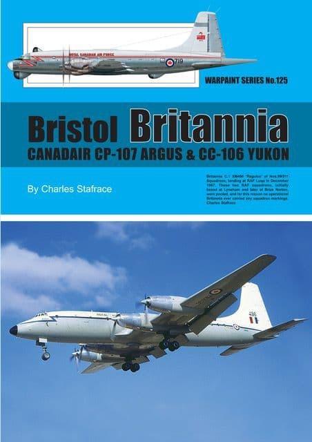 Bristol Britannia,Canadair CP-107 Argus & CC-106 Yukon - By Charles Stafrace