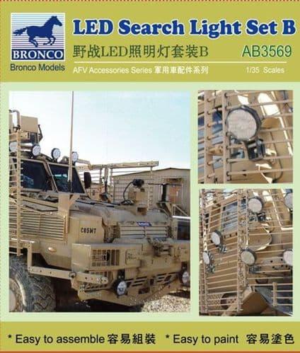 Bronco 1/35 LED Search Light Set B # AB3569