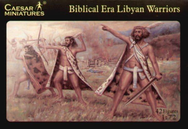 Caesar Miniatures 1/72 Biblical Era Libyan Warriors # 022