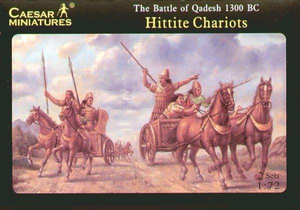 Caesar Miniatures 1/72 Hittite Chariots # H012