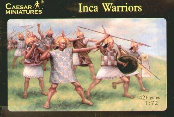 Caesar Miniatures 1/72 Inca Warriors # 026