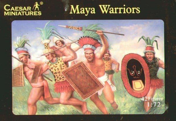 Caesar Miniatures 1/72 Maya Army Warriors # H027