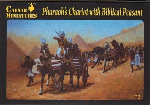Caesar Miniatures 1/72 Pharaoh's Chariot with Biblical Peasant # 042