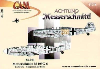 CAM 1/24 Messerschmitt Bf-109G-6 # 24001