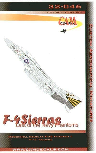 CAM Decals 1/32 McDonnell F-4S Phantom # 32046