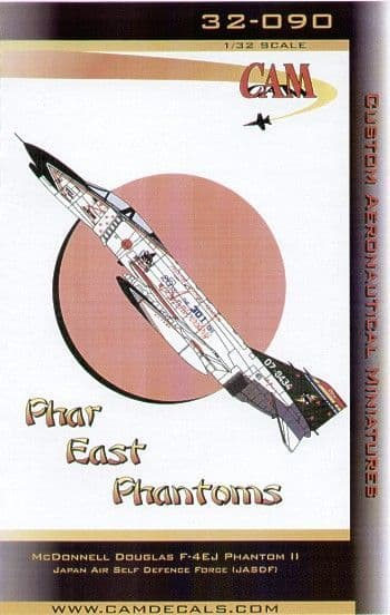 CAM Decals 1/32 Phar East McDonnell F-4EJ Phantom # 32090