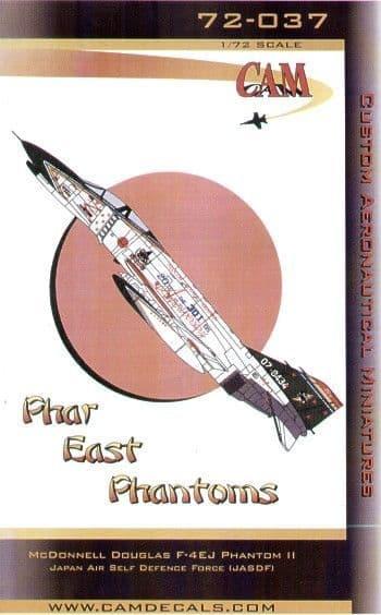 CAM Decals 1/72 Phar East McDonnell F-4EJ Phantoms Part 2 # 72037